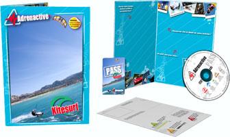 coffret cadeau kitesurf