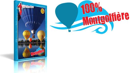 offrir un coffret cadeau 100 % Vol en Montgolfière
