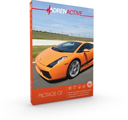 offrir un coffret cadeau 100 % Pilotage Automobile