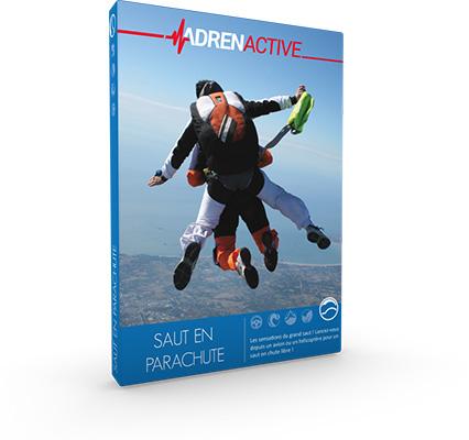 offrir un coffret cadeau 100 % Saut en Parachute